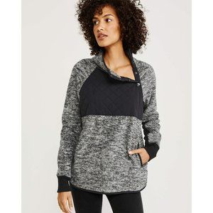 [Abercrombie & Fitch] Asymmetrical Snap Up Fleece